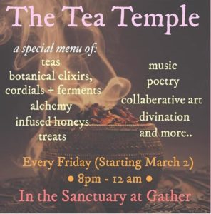 Friday Night Tea Temple